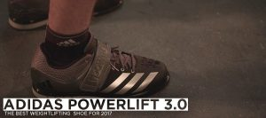 ADIDAS POWER LIFT-3 WEIGHTLIFTING SHOE